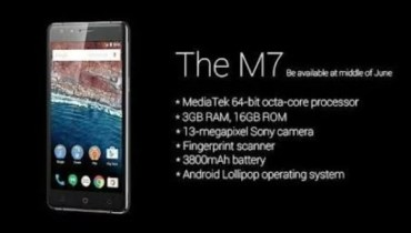 Gionee M7 Full Specifications, Price, Features and Launch Date