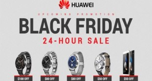 Huawei Black Friday and Cyber Monday Deals (November 23 to 27, 2017)