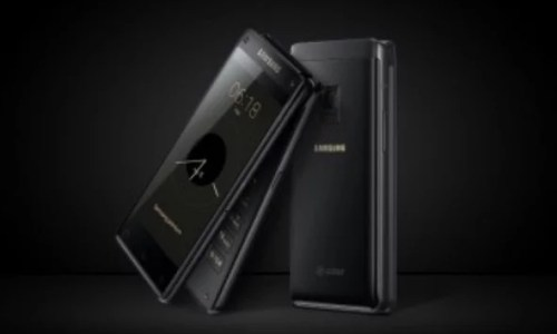 Samsung W2018 Specifications, Price and Features (Launched in China)