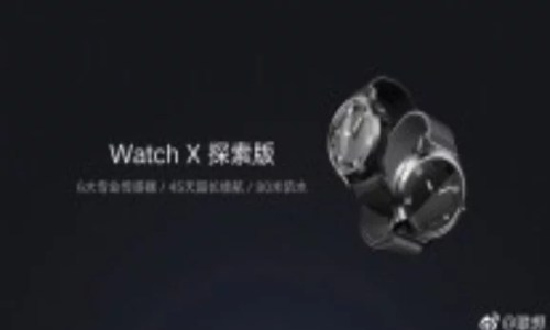 Lenovo Watch X Price and Features: Measures Heart Rate and Blood Pressure