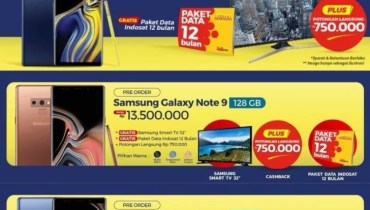 Samsung Galaxy Note9 Price Revealed in a Pre-order Poster in Indonesia