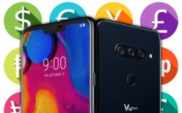 LG V40 ThinQ Price and Pre-order Details in The United States