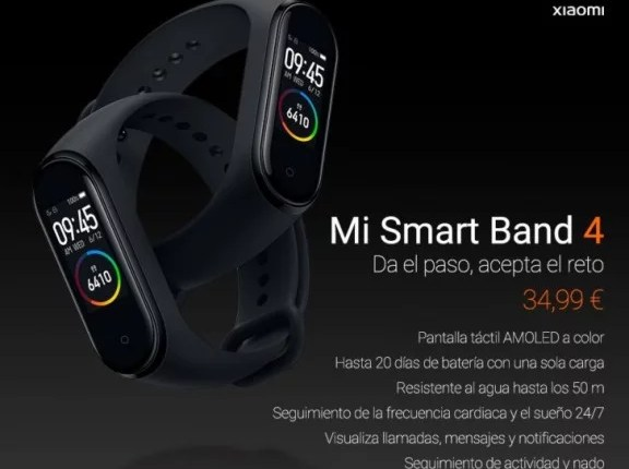Xiaomi Mi Smart Band 4 Arrive Europe; See Price and Availability