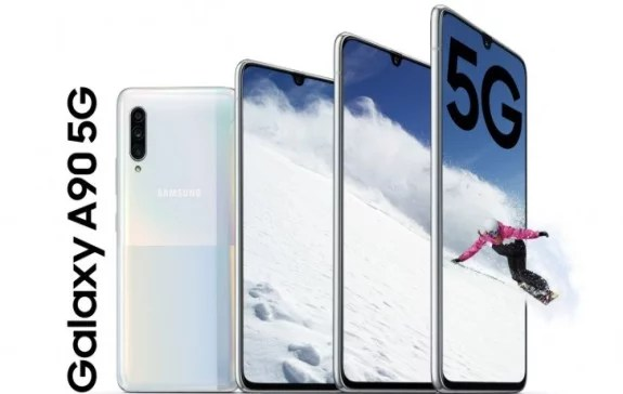 Samsung Galaxy A90 5G Goes Official; See all You Need to Know