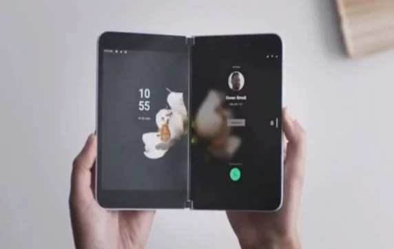 Microsoft Surface Duo – a Foldable Android Phone with Two Screens