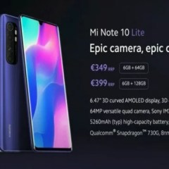 Xiaomi Mi Note 10 Lite Specification, Price, and Release Date