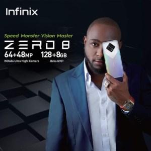 Infinix Zero 8 Features Display By Davido