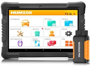 HUMZOR NexzDAS PRO Bluetooth 9.6inch Tablet Full System OBD2 Scanner Auto Diagnostic Tool