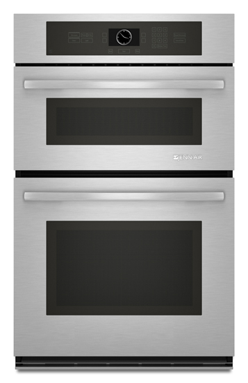 combination microwave wall oven with