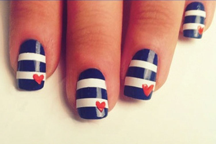 Nail Ideas With Tape