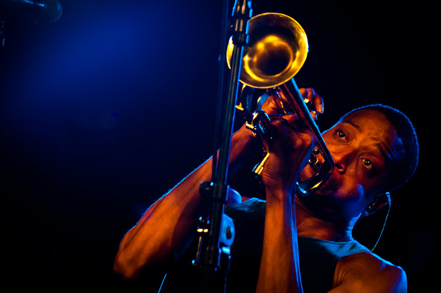 Trombone Shorty at the Jazzfest Wien, 2011