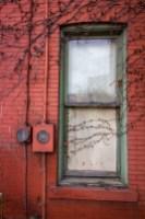Outside Window - Logans Place Bar - St. Marys, PA