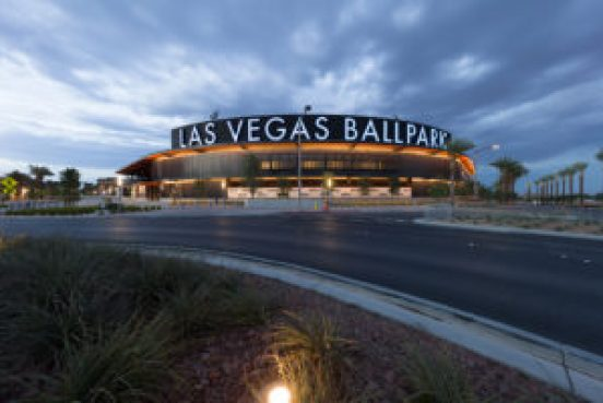 Las Vegas Ballpark - Straight out of camera