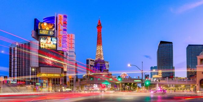 Timelapse on the Las Vegas Strip