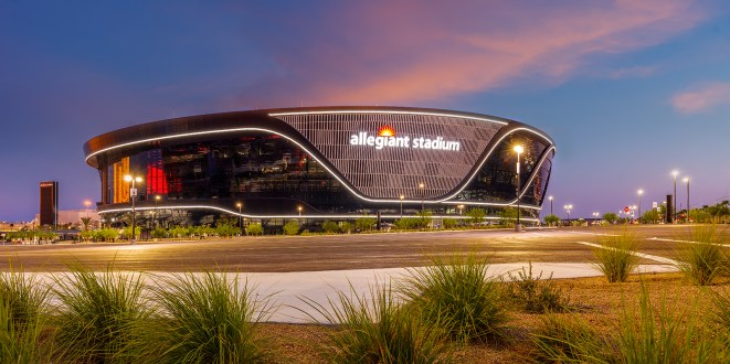 Allegiant Stadium - Las Vegas, NV Home of the Las Vegas Raiders