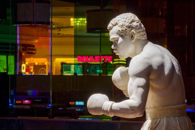 Color Me Joe Statue - Caesars Palace
