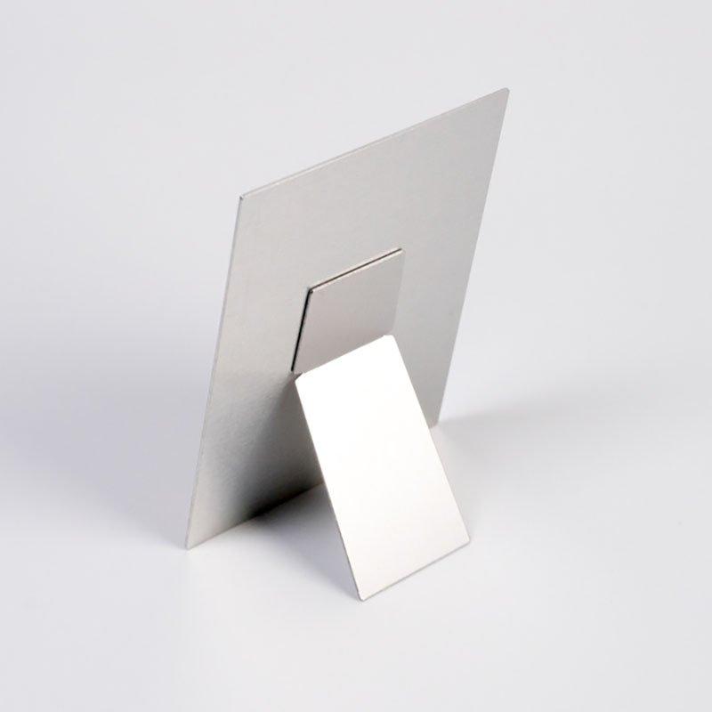 L size Postcard size aluminium stand