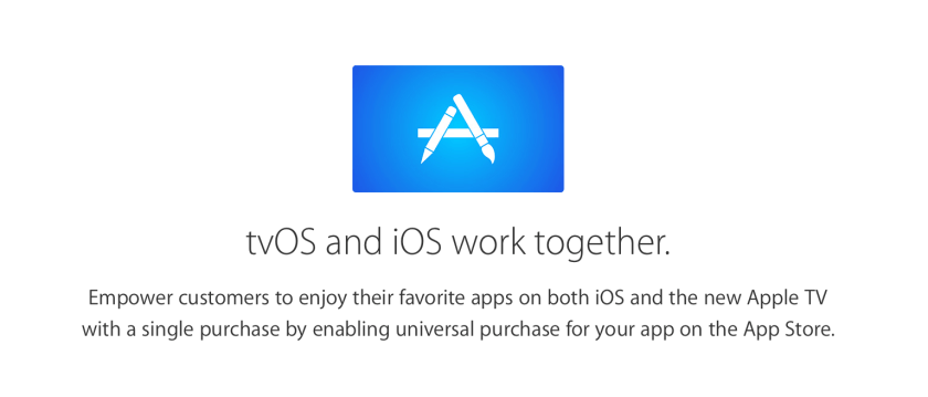 Universal Apps from Apple TV announcement