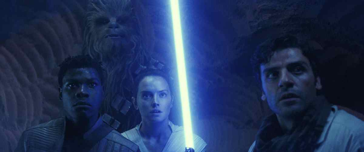 Teaser image from The Rise of Skywalker