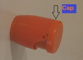 New Flashlight showing cap