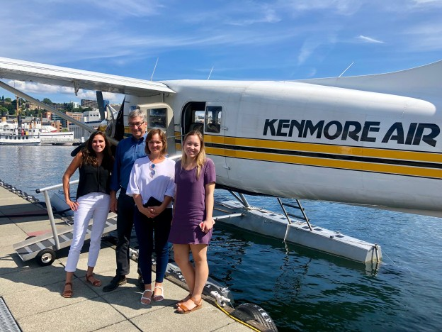 Spectrum Exercise Competition Winners Seaplane Tour Summer 2019