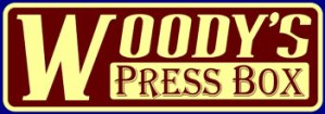 woody's press box logo