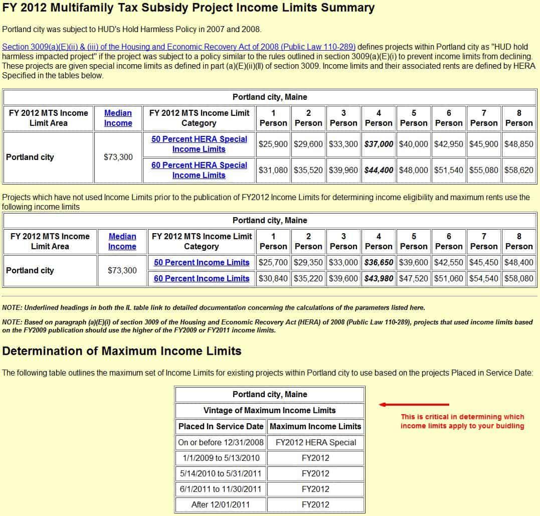 Hud Calculation Worksheet