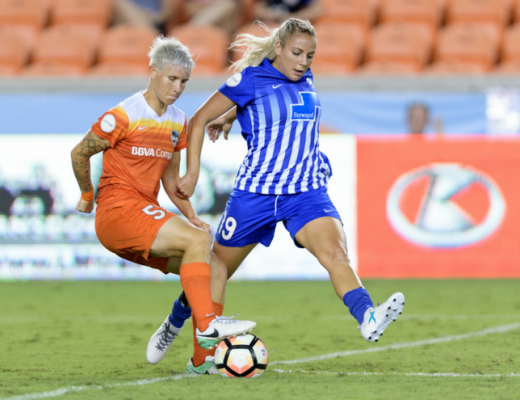 From South Africa to the U.S., soccer player Janine van Wyk now calls the Houston Dash home.