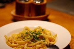 Spaghetti w sosie cytrynowym