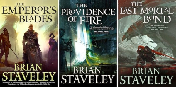 Chronicle of the Unhewn Throne by Brian Staveley