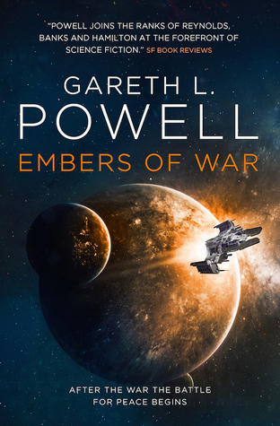 Guest Post: Gareth L. Powell Shares Five SF Books That Influenced Embers of War