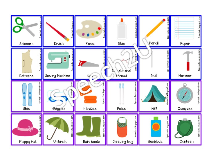 Interactive Flashcards And Fill In The Blank Cards Speech 2u