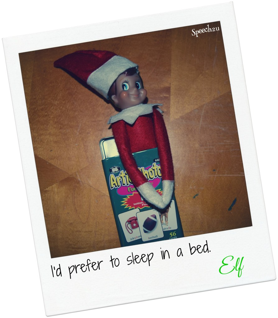 Elf of my SLP shelf