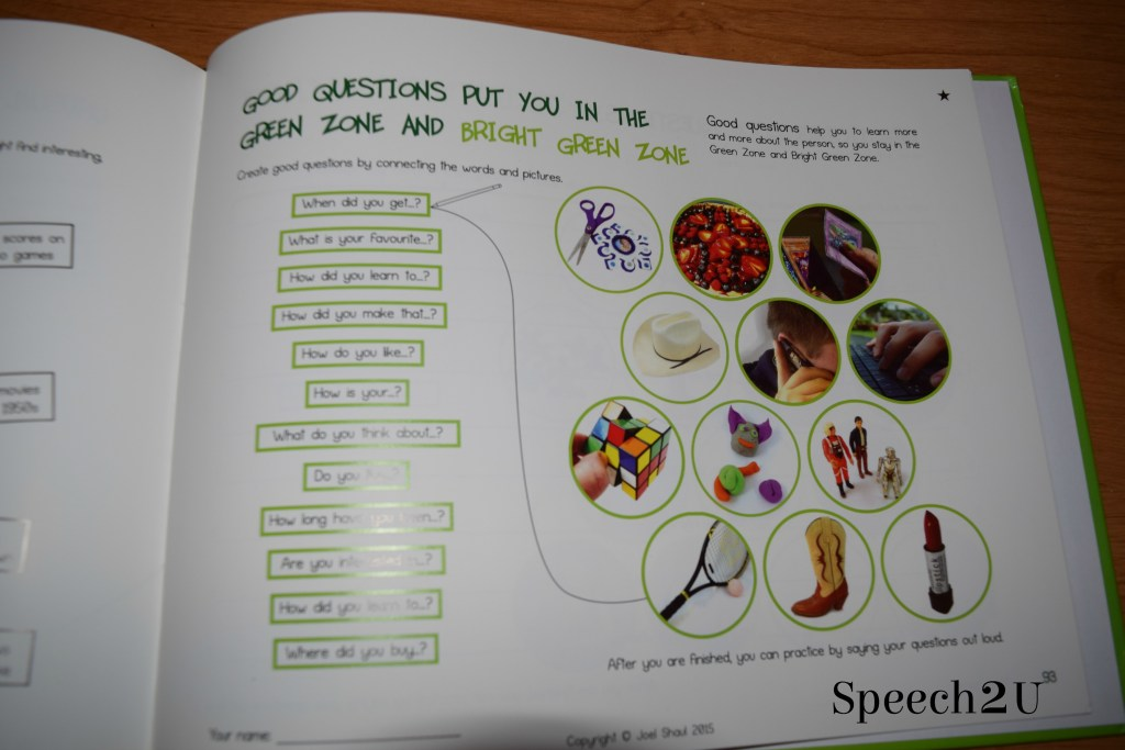 Green Zone Conversation Program (review)