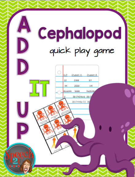 Cephalopod week {freebie}