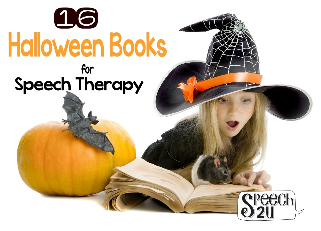 Halloween Speech Therapy Books
