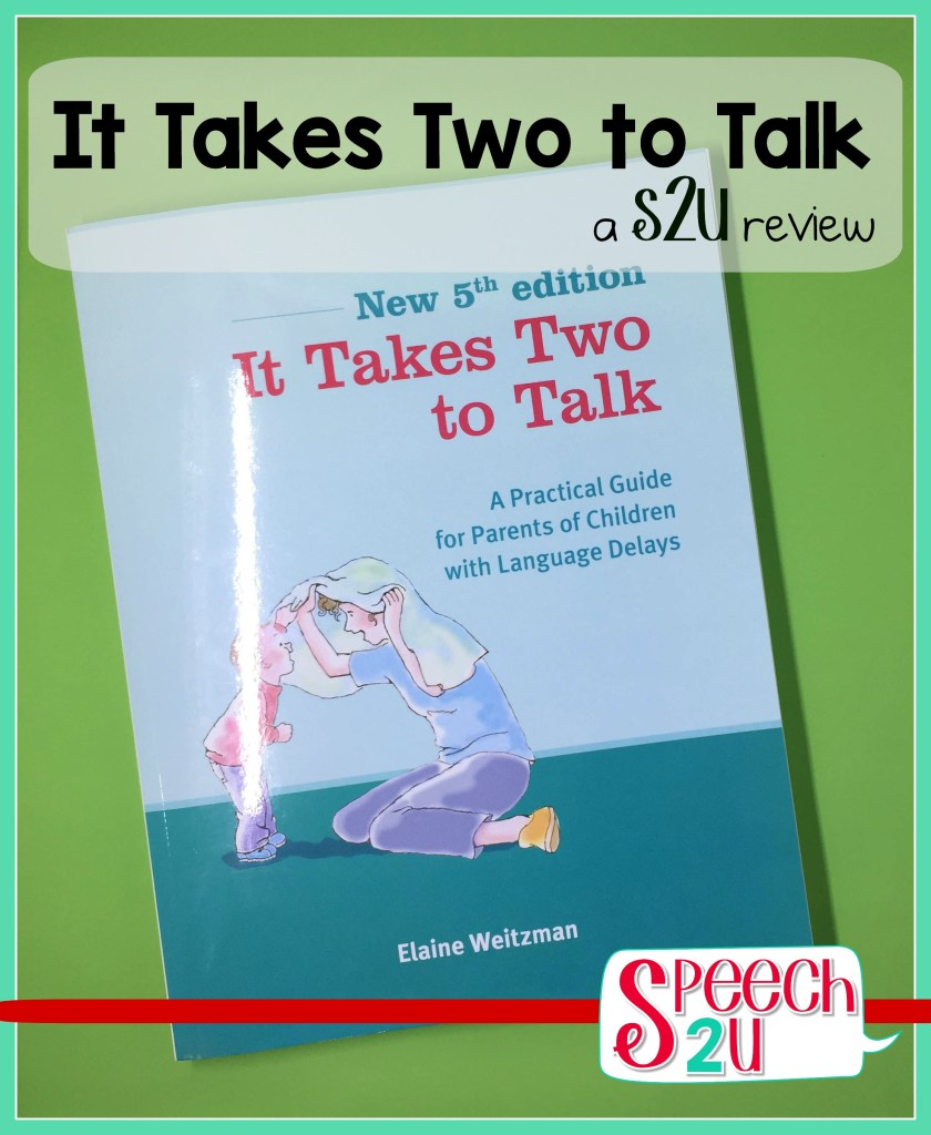 Hanen: It Takes Two to Talk {Review}