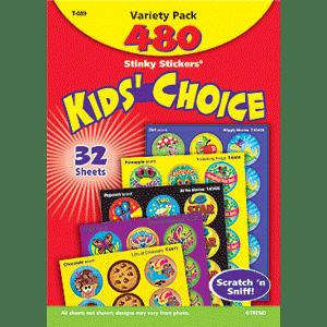 Kids Choice - Stinky Stickers (480 stickers, 48 designs)-0