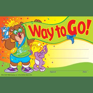 Way To Go Certificates-0