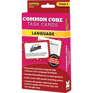 Common Core Language Task Cards: Grade K-0