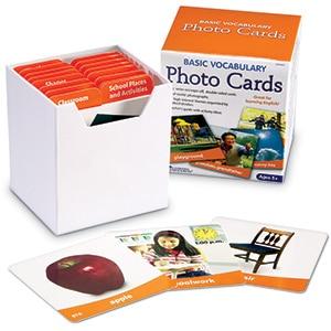 Basic Vocabulary Photo Cards-0