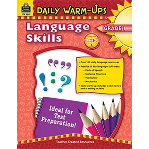 Daily Warm-Ups - Language Skills: Grade 1-0