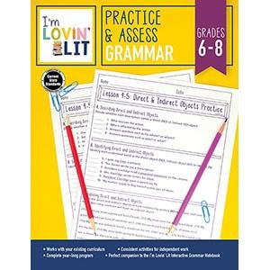 Practice and Assess: Grammar, Grades 6-8-5220