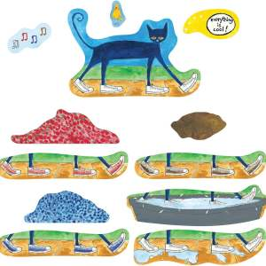 Pete the Cat, I love My White Shoes - Flannel Board Stories-0