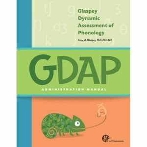 GDAP Glaspey Dynamic Assessment of Phonology- Complete Kit-0