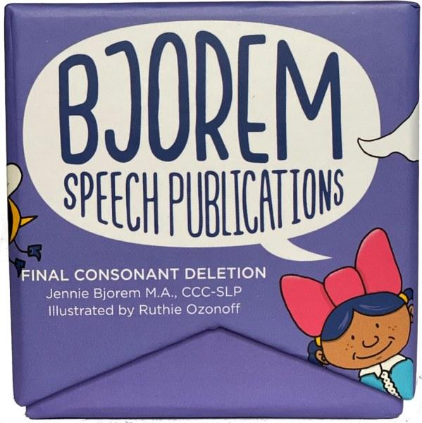 Bjorem Speech—Final Consonant Deletion-0