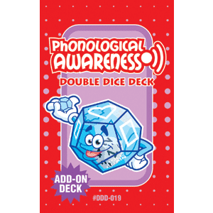 Phonological Awareness Double Dice Add-On Deck **Damaged/Dented Discount-Online Only**-0