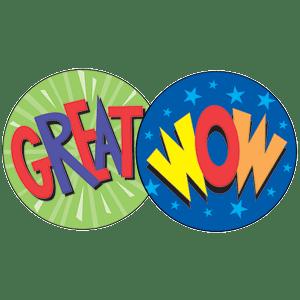 Praise Words - Stinky Stickers (648 stickers, 56 designs)-2979