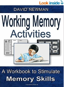 Working Memory Activities A Workbook To Develop Students