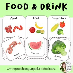 Vocabulary: Food & Drink